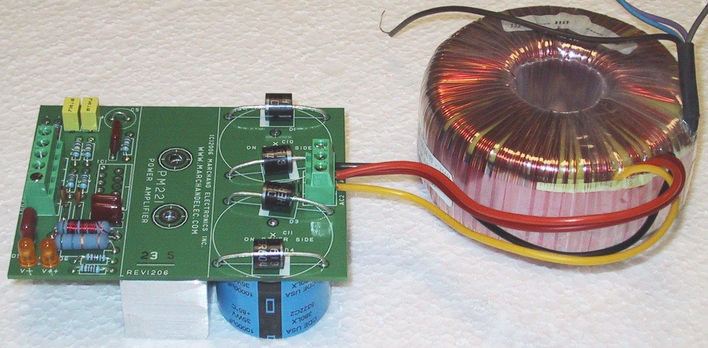 Power Amp Module Schematic Custom Wiring Diagram 50 Watt Amplifier Pm221 Rh Marchandelec Com Audio Circuit