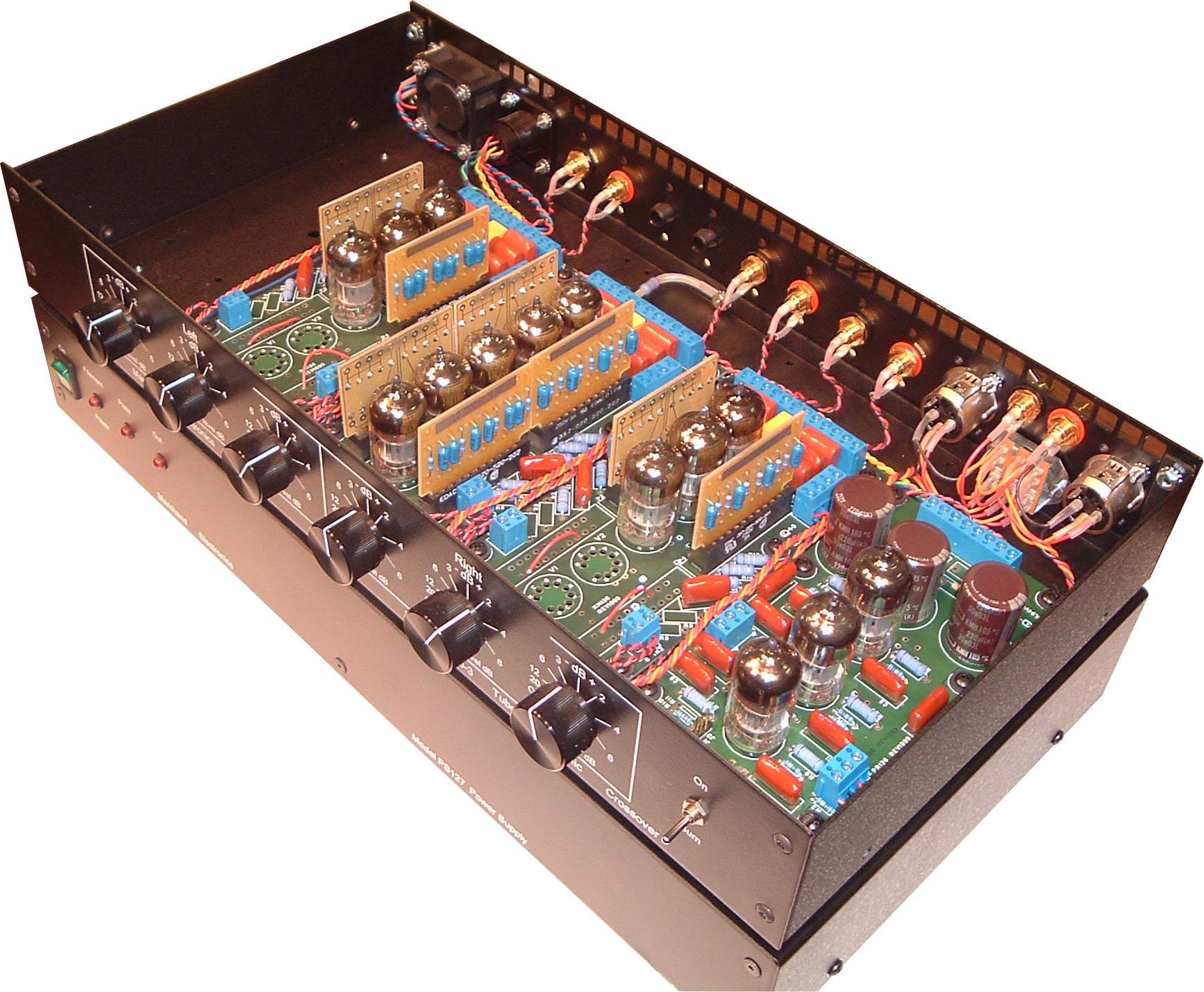 Electronic Crossover Network : Xm vacuum tube electronic crossover network way
