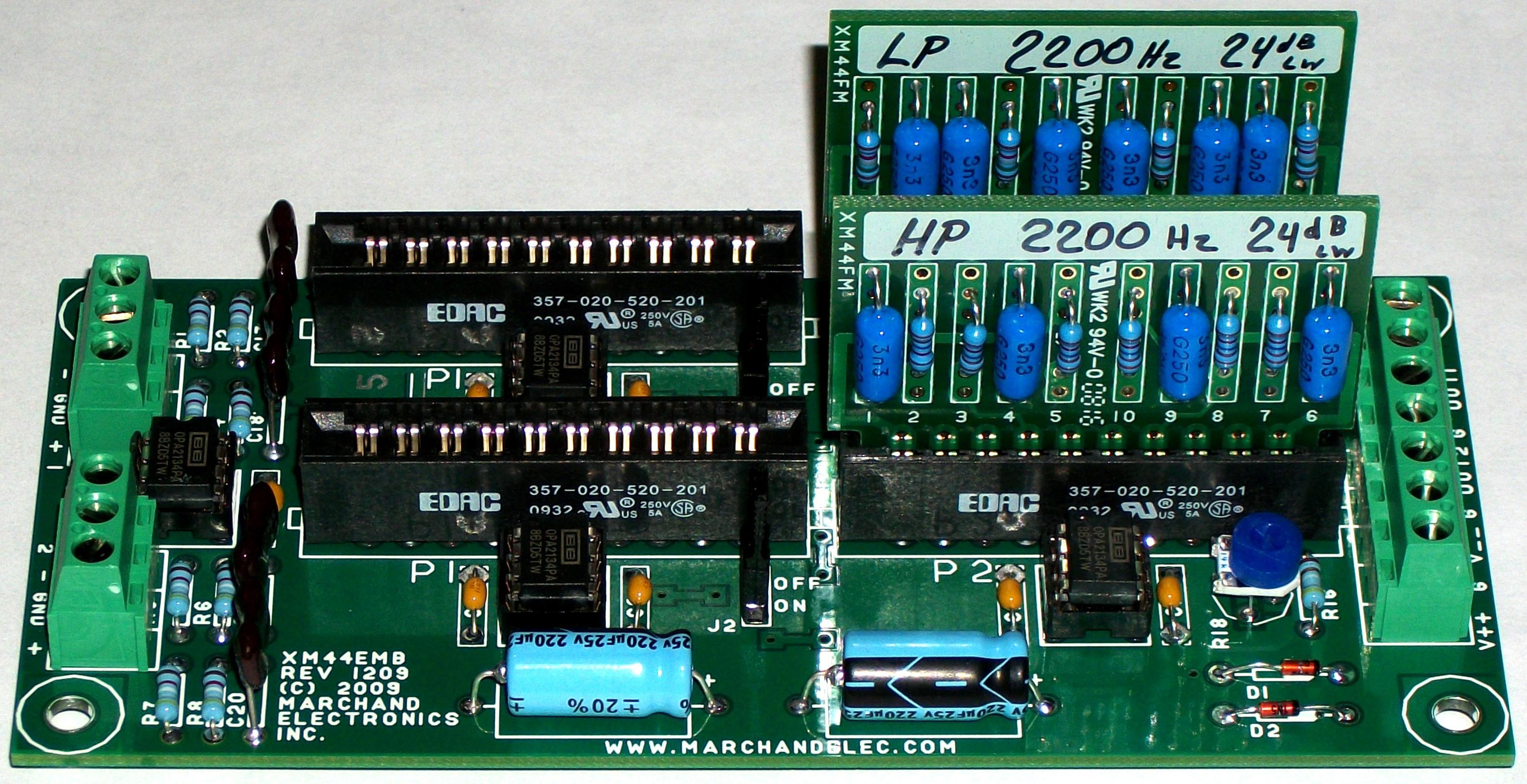 Xm Emb Big on Electronic Control Module