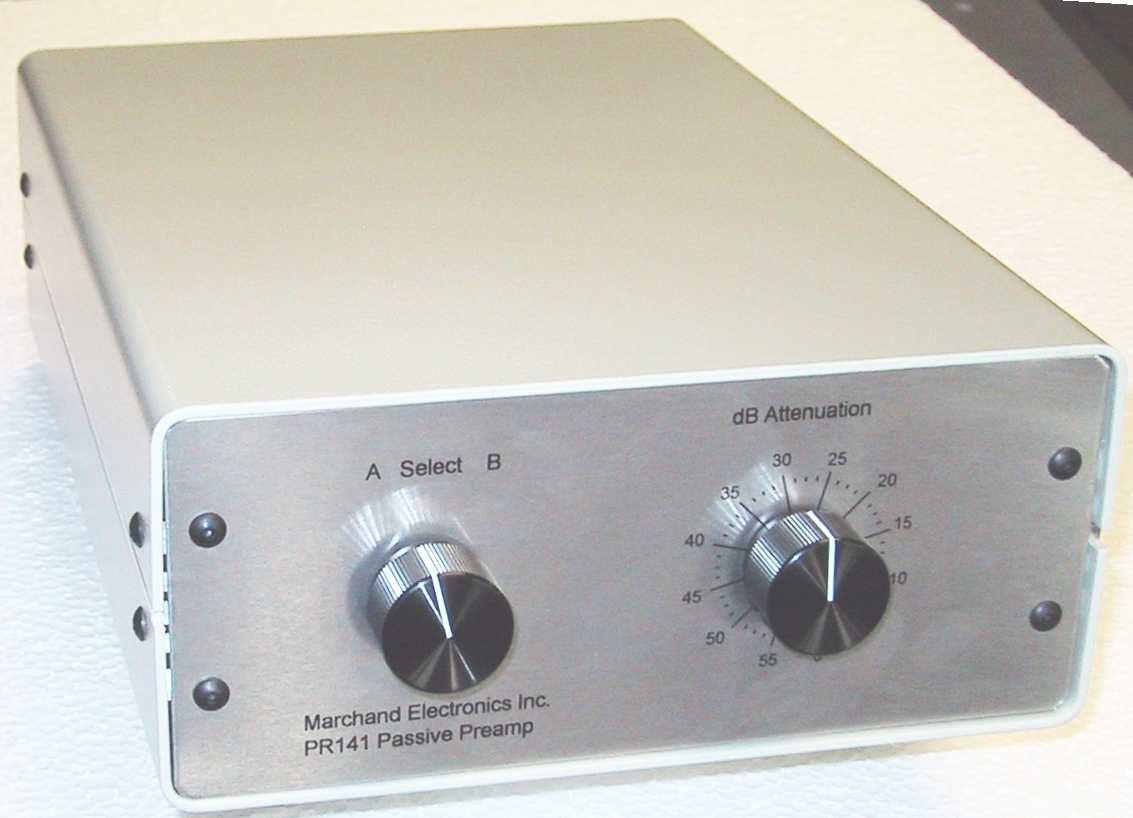 Passive Audio Mixer W Channel Volume Control
