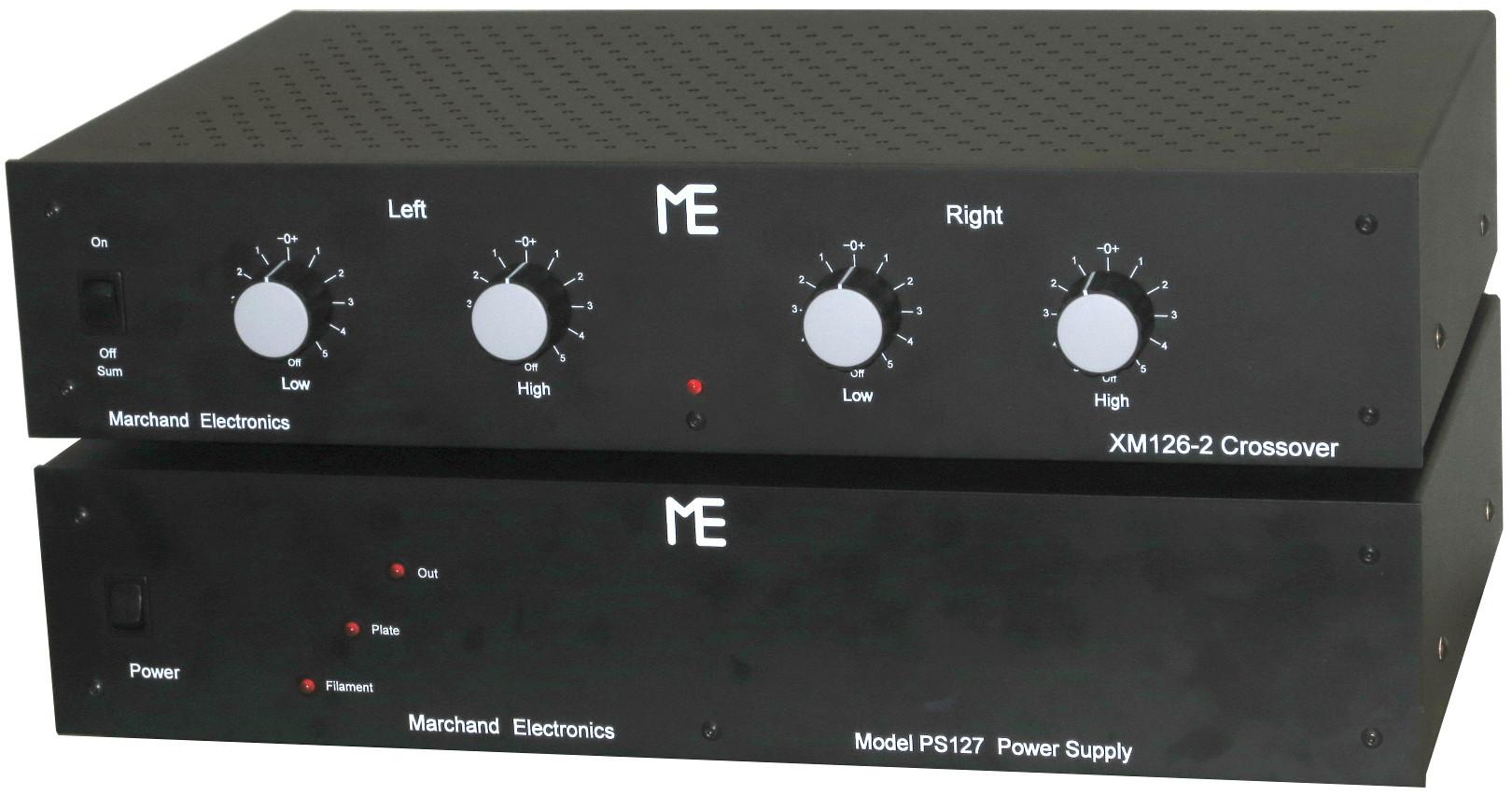 XM126 Vacuum Tube Electronic Crossover