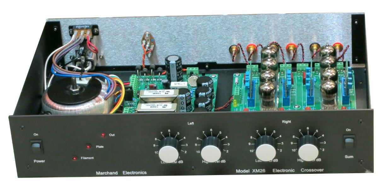 xm26 vacuum tube electronic crossover networkxm26 tube electronic crossover