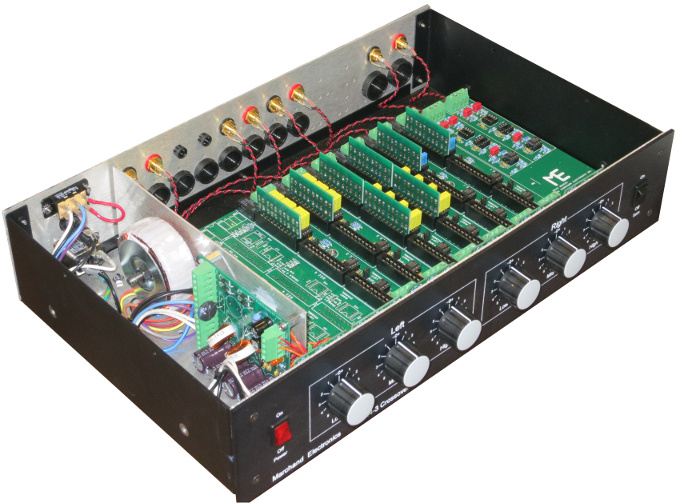 custom electronic crossover, active crossover, subwoofer