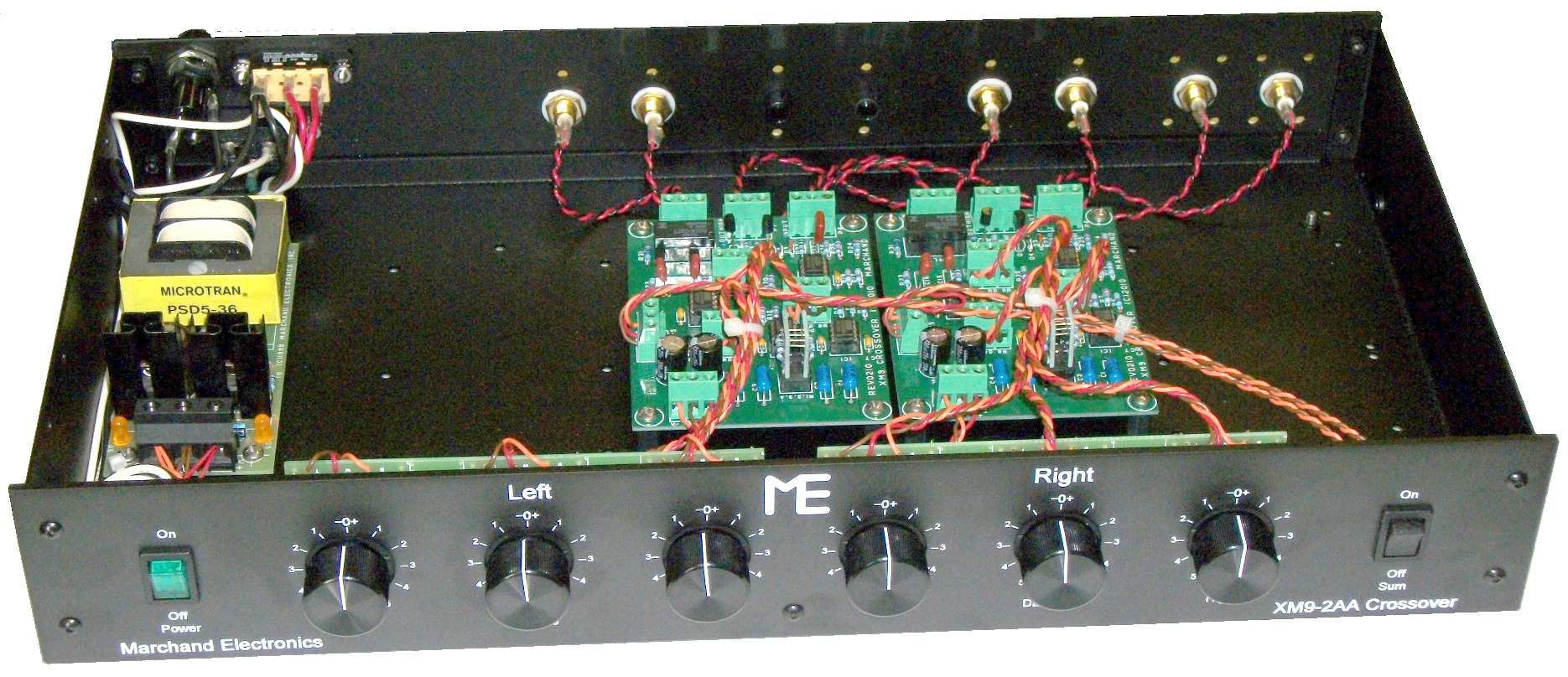 marchand xm active crossover network